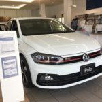 Polo GTI 展示しました!